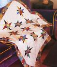 UNEVEN STAR Quilt Pattern Piecing Fat Eighth Friendly from Magazine
