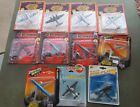 Die Cast Airplanes Military Lot of 11 New in original packaging