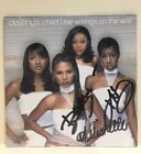DESTINY'S CHILD: THE WRITING'S ON THE WALL -CD, HAND SIGNED / AUTOGRAPH, BEYONCE
