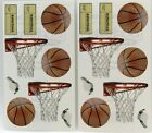 Basketball Tickets Hoops Whistle 2 Sheets Frances Meyer Stickers