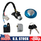 Ignition Switch Gas Cap Helmet Seat Lock Keys Kit For Honda CMX250 Rebel CA125