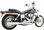 Freedom Exhaust System Union 2 Into 1 Chrome Harley Davidson HD00021