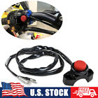CNC Motorcycle Engine Stop Start Kill Switch Button Kit Pit Dirt Monkey Bike ATV