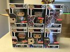 CHASE DEMOGORGON LOT OF 6 Stranger Things 8 Bit Target Exclusive Funko Pop SET