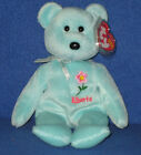 TY ALBERTA WILD ROSE the BEAR  BEANIE BABY - CANADIAN EXCLUSIVE - MINT TAGS