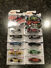 Hot Wheels 50th Anniversary CAMARO set of 10 cars