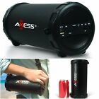 Portable Speaker Wireless Bluetooth WiFi Rechargeable Bass Stereo SD Card Black