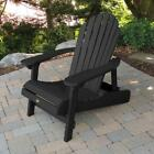 Outdoor furniture Adirondack Collection Hamilton Folding  Reclining Chair