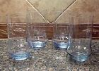 Vintage Libbey Light Blue Impromtu 16 oz. Glasses Cooler Nice