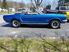 1965 Ford Mustang Convertible 1965 ford mustang convertible condition excellent cylinders 8 cylinders