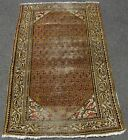 ANTIQUE COUNTRY HOUSE SHABBY CHIC PERSIAN SARABAND SERABABAND RUG  YELLOW COLOUR