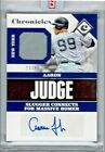 2017 CHRONICLES ENCASED AARON JUDGE ROOKIE SIGNATURE SWATCHES AUTO 23 99 SEALED