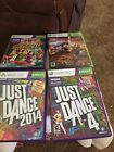 Lot Of 4 XBox 260 Games-Just Dance,Lego Lord Of The Rings,Kinect Adventures-Lot5