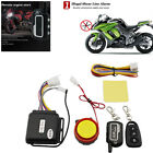125dB Sound Motorcycle Security 2-Way Alarm Remote Control Engine Start Cut Off