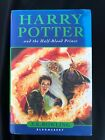 First Edition Harry Potter And The Half Blood Prince Bloomsbury Hardback