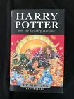 First Edition Harry Potter And The Deathly Hallows Bloomsbury Hardback