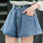 Vintage High Waist Denim Shorts Casual Loose Jeans Shorts For Women Denim Shorts