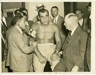 Primo Carnera to fight Max Baer at Madison Square Garden type 1 photo 1934