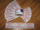 ⭐NEW⭐ 250 count USPS Priority Mail Stickers Tape Roll + 20 Priority Label Strips