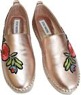 New Steve Madden Pastel Rose Gold Espadrilles Casual Sneakers 55 5 1 2