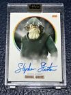 2017 Topps Star Wars Stellar Signatures Trading Cards 13