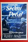 SEVENTH SEAL SWEDISH INGMAR BERGMAN 1957 VON SYDOW CHESS RARE EXYU MOVIE POSTER
