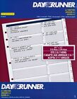 Day Runner Refill A z Directory 8 1 2 X 11 409 190 Fits 3  7 Ring Binders