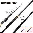 KastKing BlackHawk II Fishing Rod Travel Telescopic Pole Spinning Casting Rod US