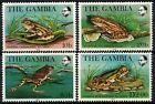 Gambia 1982 SG484 487 Frogs MNH Set D75369