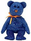 TY Beanie Baby - DISCOVER the Blue Bear (Northwestern Mutual Exclusive)
