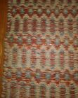 Long Vintage Carpet Rug Runner Native American South Western Style 84x24 Inches