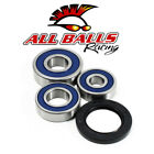1969 Kawasaki H1 500 Mach III Motorcycle All Balls Wheel Bearing Kit [Rear]