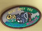 Girl Scout Patch - AGSC 207 TOS Nuts About Wildlife- New - Qty 1 - Great Detail!