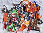 Lot of Over 100 Hot Wheels Tracks and Misc Pieces