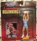 LARRY BIRD INDIANA STATE ~ VINTAGE 1998 LEGENDARY BEGINNINGS STARTING LINEUP