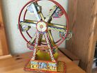 VINTAGE CHEIN WINDUP FERRIS WHEEL W ORIGINAL BOX