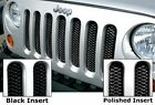 Rampage 86512 Single Piece 3D Grille Fits 07 18 Wrangler JK