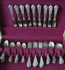 Wallace sterling silver - Rosepoint design - 47 pieces - FREE SHIPPING