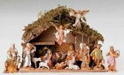 5 Inch Scale Fontanini Italian 16 pc Nativity Scene 54492