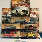 SHOP TRUCKS  5 Car Set  2018 Hot Wheels Car Culture D Case Silverado 62 Chevy