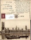 559122,England London Houses of Parliament and River Thames Boote