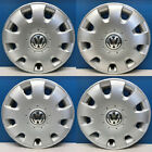 "'05-10 Volkswagen Jetta Rabbit Golf # 61552 15"" Hubcaps / Wheel Covers USED SET"