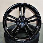 M3 M4 Style 20x85 20x95 Black Wheels Set of 4 Fit BMW F10 535i 550i
