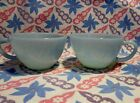 Vintage Fire King Turquoise Coffee Cup x 2 in Excellent Condition.