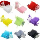 100PCS Mini Colorful Organza Gift Bag  Wedding/Party Favor ewelry Drawstring Bag