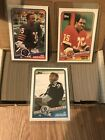 TOPPS 1988 Football Full 396 Card Set Bo Jackson & Brian Bosworth Rookie Cards
