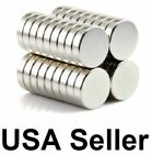 Lot 50 100 Pcs Round Disc Block Magnets Cylinder Rare Earth Neodymium N52 N48