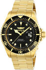 Invicta Men's Pro Diver Quartz 200m Gold-Plated Stainless Steel Watch 25717
