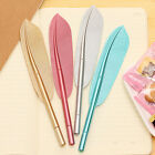 5x New Cute Wing Feather Ballpoint Ink Pens Creative Stationery Student GiftH KY
