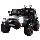 12V Kids Ride on Cars Electric Power Wheels with Remote Control 2 Speed Black